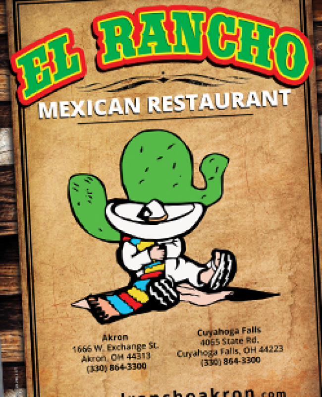 Akron Mexican Restaurant Menu