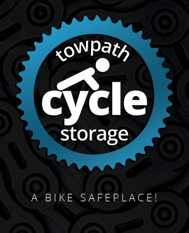 Towpath Cycle Storage Logo Design